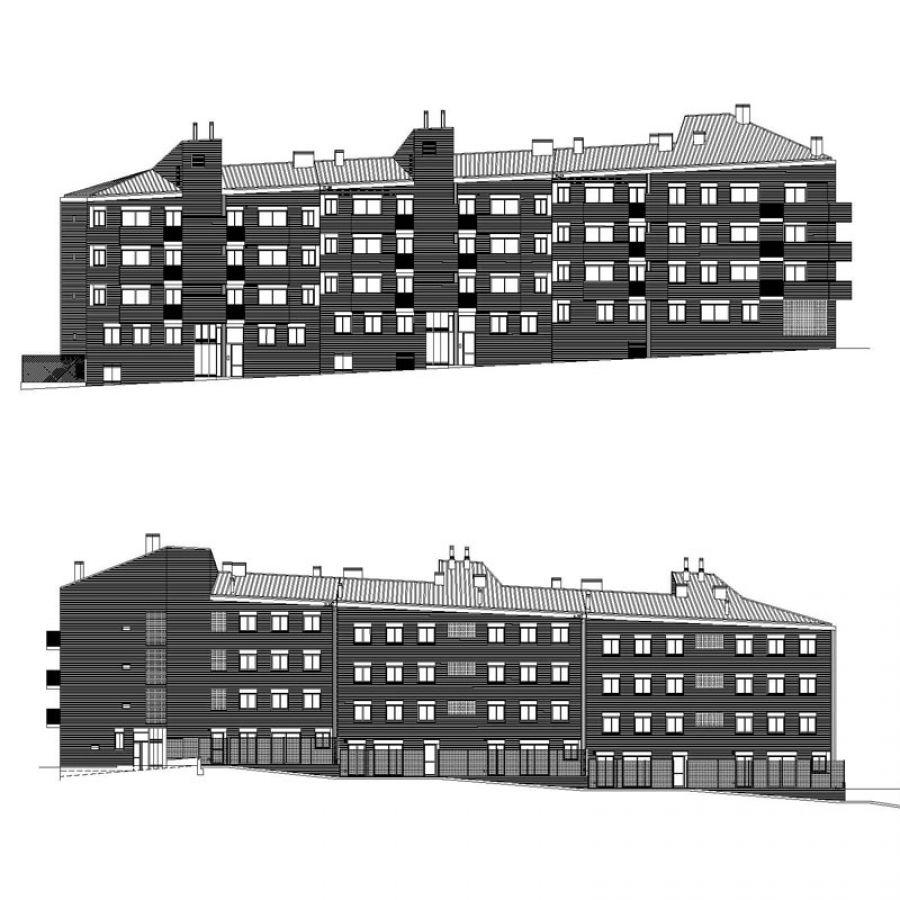 Housing blocks. 24 apartments