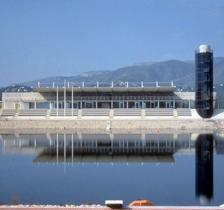 Rowing infrasctructure for the 1992 Olympic Games