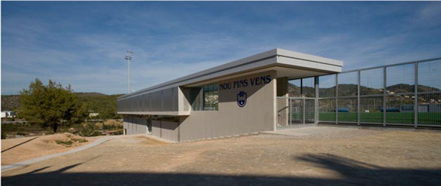 Camps de futbol de la zona esportiva U.A. Pins Béns