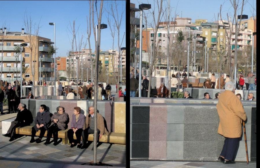 Urbanitzación de la plaza de la Mediterrània y su entorno